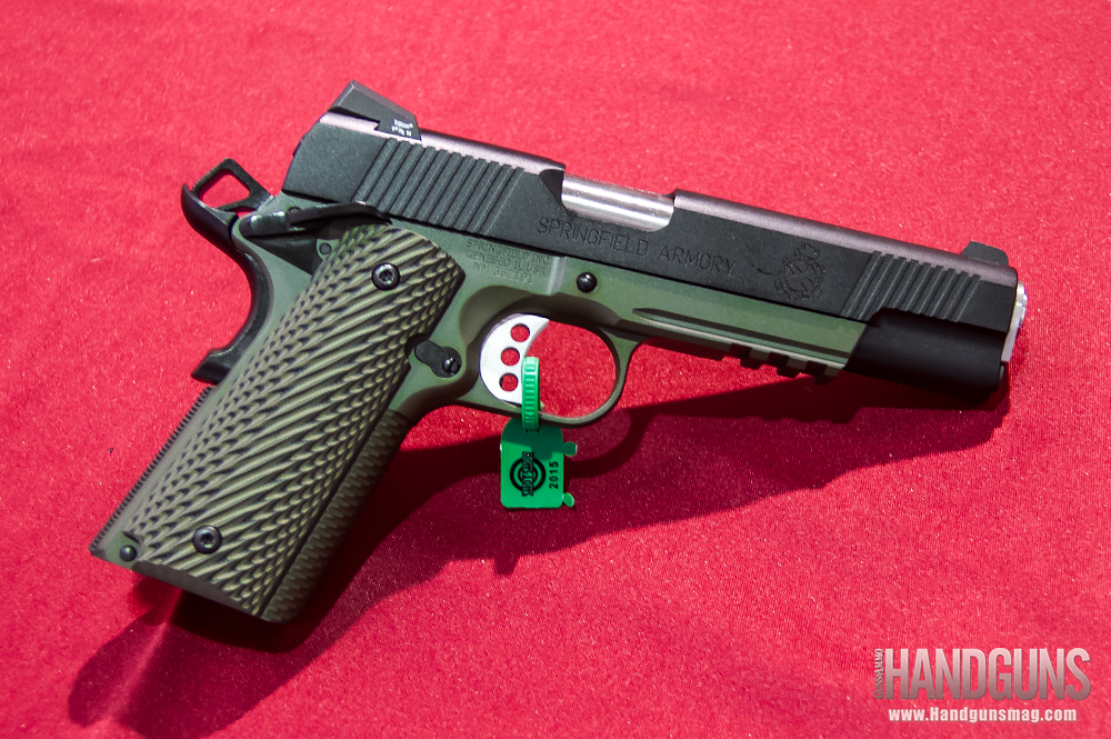 Springfield Armory Introduces New Marine Corps (MC) Operator 1911