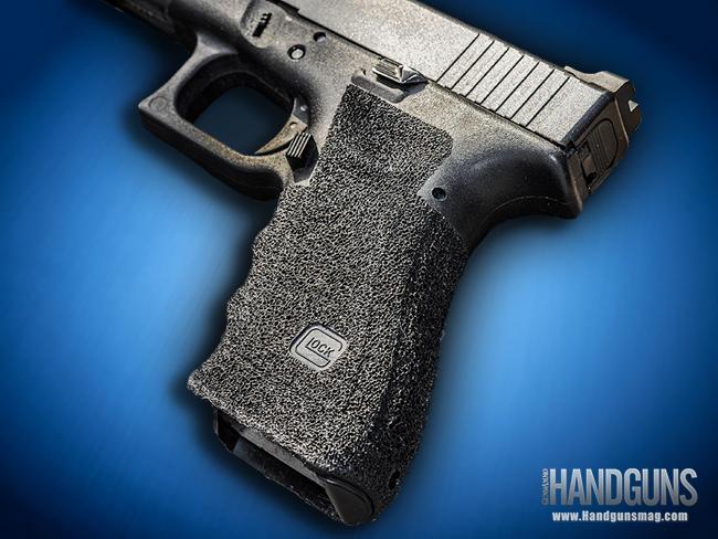 How to Stipple Your Handgun Grip