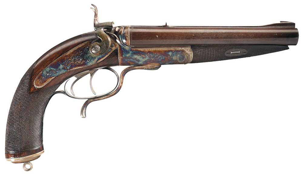 Howdah-pistol