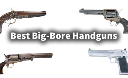 Ever since gunpowder was invented, shooters have been making handguns with the biggest hole down the barrel that they could safely shoot.