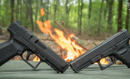 It's the Glock 17 vs. Canik TP9SA in this polymer pistol showdown. Find out whether the ubiquitous Glock stays on top or is knocked off by the TP9SA.