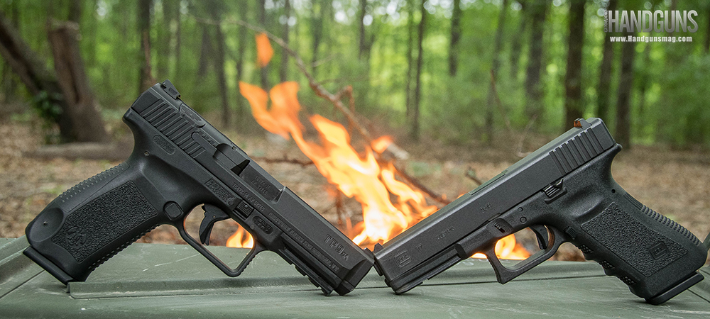 Glock 17 vs. Canik TP9SA: Polymer Pistol Showdown