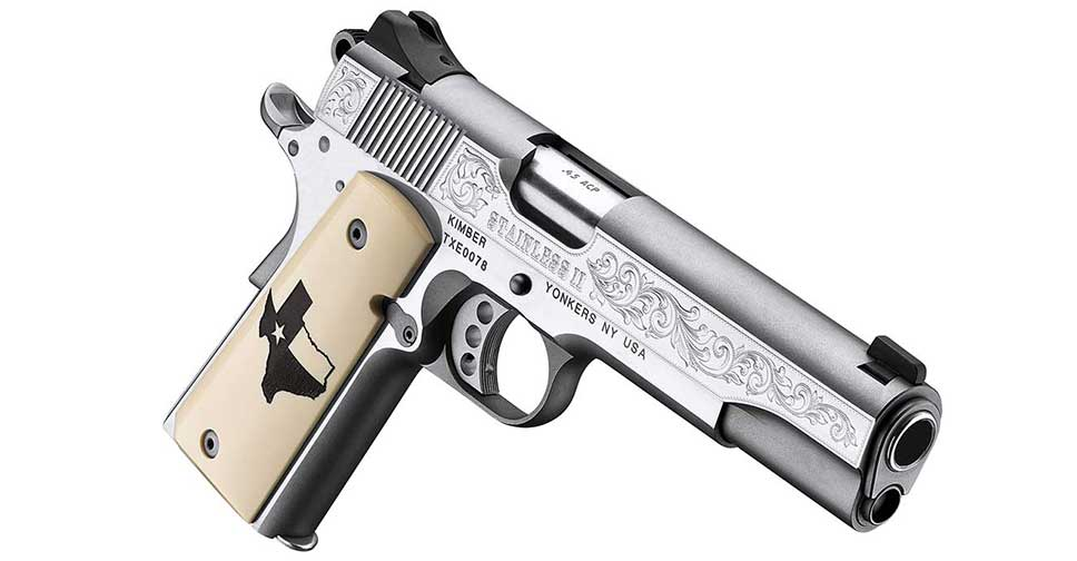Kimber-Stainless-II-Texas-Edition---RightFront