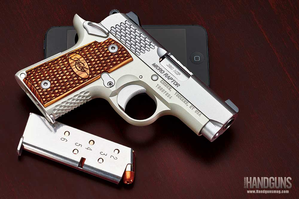 Kimber Micro Raptor .380 Review
