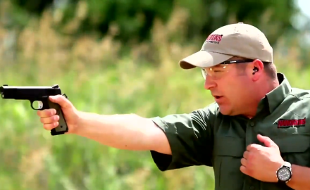 James Tarr and Richard Nance cover the basics of one-handed pistol shooting.