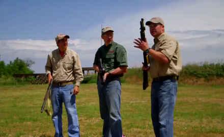 Shotgun News' David Fortier stops by to talk pump shotguns with Richard Nance and James Tarr.