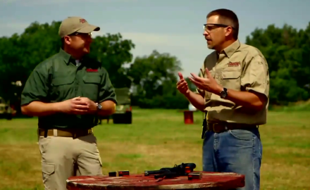 Richard Nance and James Tarr talk about determining eye dominance as it pertains to both rifles and
