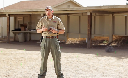 James Tarr shows you how to effectively operate the 1911 pistol.
