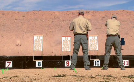 Our hosts go head to head on the most famous pistol skills drill of all, the El Presidente- and