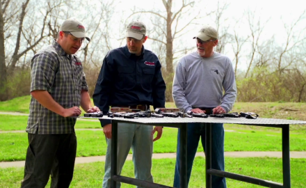 Rich Nance, Jim Tarr, and Dave Spaulding debate what constitutes a good carry gun.