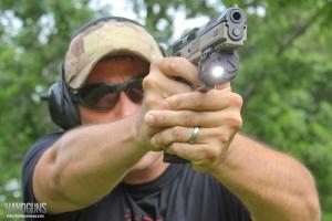 Laser-(1) handgun