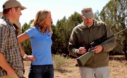 Ruger's new American Rifle Predator model gets worked hard as Richard Nance, Jessica Nyberg and