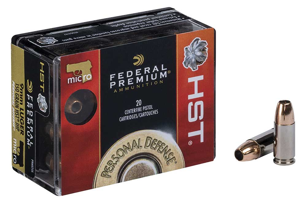 First Look: Federal HST 9mm Micro