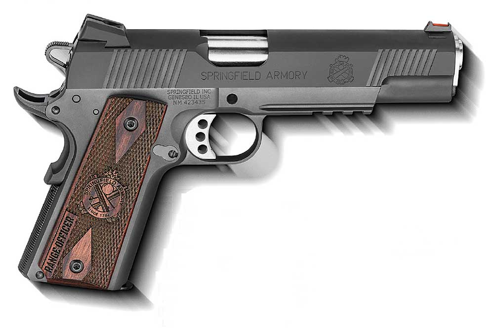 First Look: Springfield Range Officer Operator