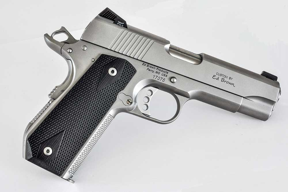 Ed Brown Special Forces Carry 1911 Review Handguns