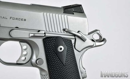 The Ed Brown Special Forces Carry 1911 gives shooters an accurate, comfortable 1911 for concealed carry. Read our review here.