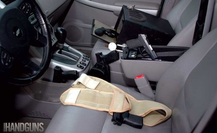 A truck gun can be practical when you must travel in and out of jurisdictions where concealed carry