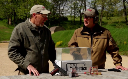 Richard Nance and James Tarr discuss the value of using gelatin when testing ammunition.