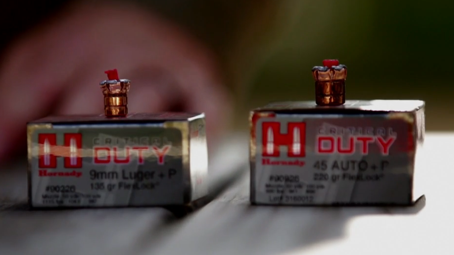 Hornady Ammo Expansion and Penetration