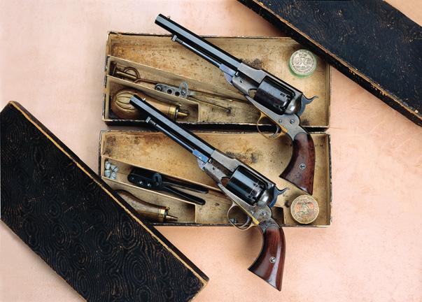 Remington Timeline: 1858 - Beals Revolver