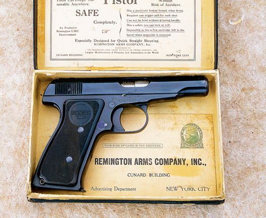 Remington Timeline: 1918 - Model 51 Autoloading Pistol