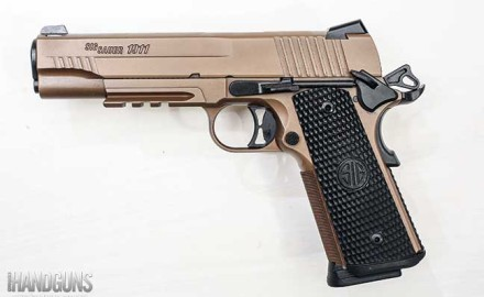 SIG Sauer's Emperor Scorpion 1911 is an upgrade from the company's original Scorpion. Find all of the details in Patrick Sweeney's review.