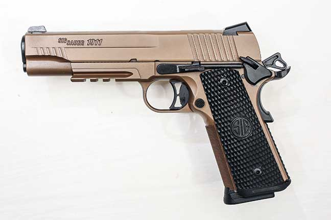 Review Sig Sauer Emperor Scorpion 1911 Handguns
