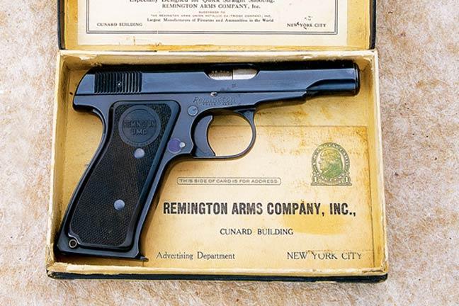 Remington Timeline 1918 Model 51 Autoloading Pistol