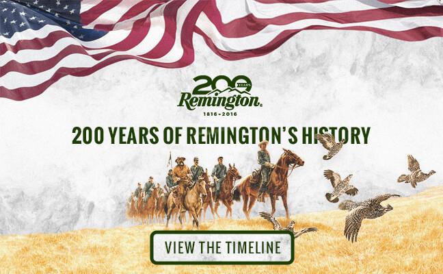 remington anniversary timelime