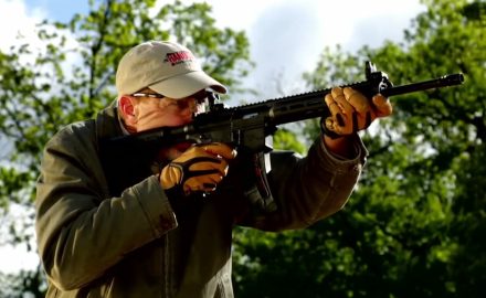 James Tarr reviews Smith & Wesson's M&P 15-22 rifle.