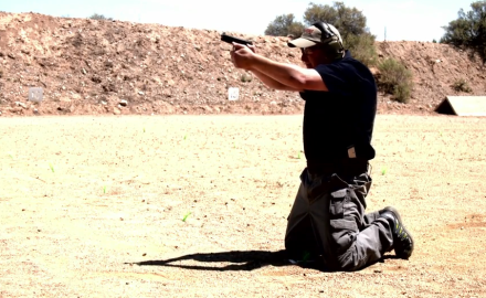Richard Nance stresses the importance of training from atypical shooting positions.