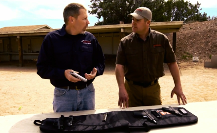 Richard Nance and James Tarr give an overview of the different types of semi-auto pistols available.