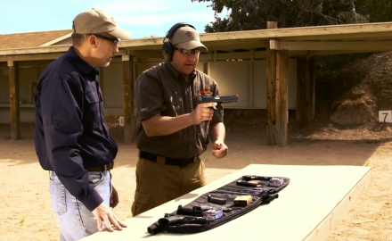 Richard Nance and James Tarr discuss the pros and cons of different trigger systems for semi-auto