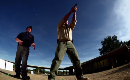 Richard Nance and Dave Starin discuss and demonstrate the different types of stances used with