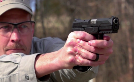 James Tarr looks at the features of the Ruger American Pistol.