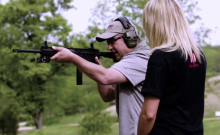 Richard Nance and Jessica Nyberg discuss the use of AR's for home defense.
