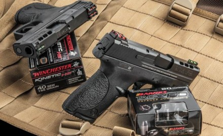 Smith & Wesson's new Ported M&P Shields in 9mm and .40 up the ante for concealed carry guns.