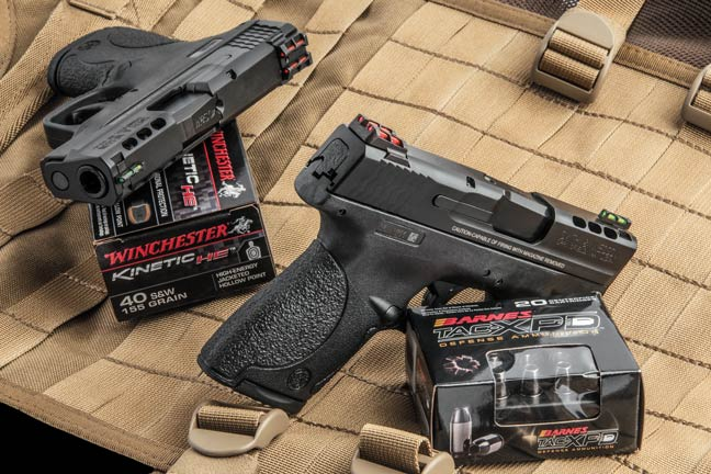 Smith & Wesson's Ported M&P Shield in 9mm and .40