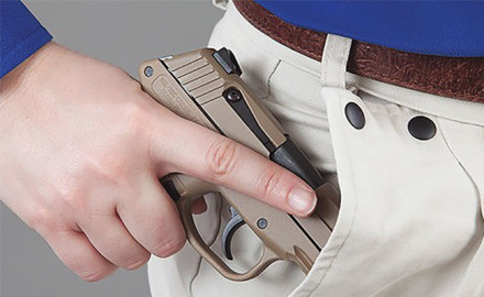 Significant examples of the variety of pocket pistols and revolvers you can find in gun stores today.