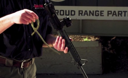 James Tarr and Richard Nance demonstrate how to clean your AR-15.