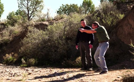 James Tarr and Richard Nance discuss and demonstrate the basics of a good shooting stance.
