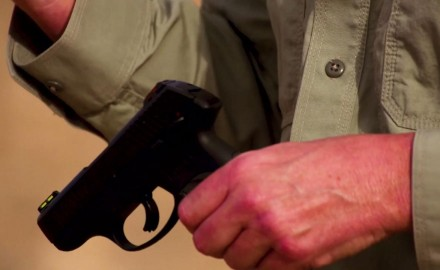 Richard Nance and James Tarr debate whether or not having a thumb safety on your handgun is a good