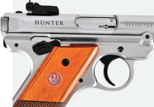 Some find the right-side thumb safety annoying because it contacts their shooting hand. The lever is easily removed, and Ruger provides a spacer to install in its place.