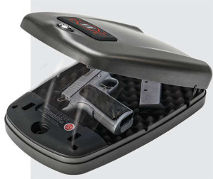 Hornady was an early adopter of RFID technology with the RapidSafe. There are four RFID methods to open unit—in addition to a keypad and a conventional key lock.