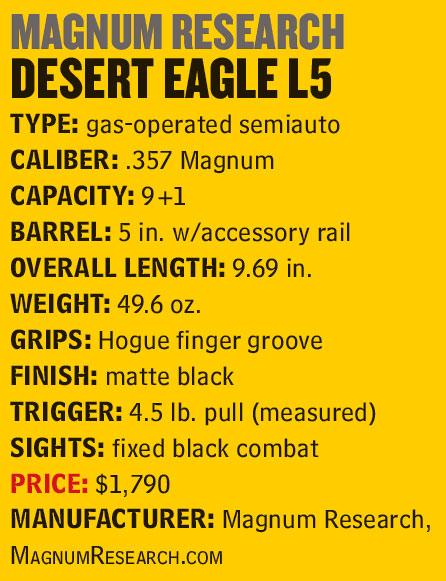 DesertEagleL5_357-Specs