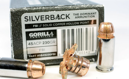 Silverback Ammo features a high-end copper bullet.