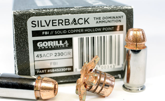 Gorilla Ammunition's Silverback Line