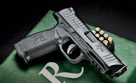 Remington enters the striker-fired pistol market with the full-size RP9.