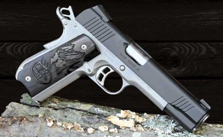 The Kimber Camp Guard 10 is insurance against dangerous predators-whether they come on four legs or two.