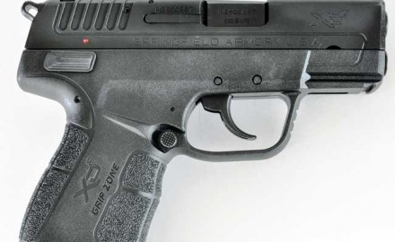 With the Springfield Armory XD-E, Springfield is betting a DA/SA pistol with exposed hammer will be a hit.